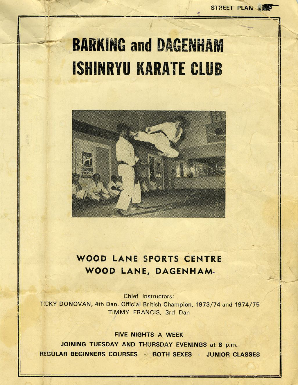Old Woodlane Poster